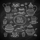 Tea Time Set Royalty Free Stock Photo