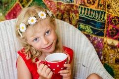 Tea time siesta Stock Images
