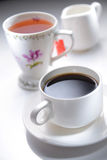 Coffee or Tea Stock Photography