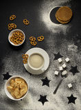 Tea time in space. Stock Images