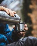 Tea time. Taken in Triglav national royalty free stock image