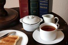 Tea Time and Toast Royalty Free Stock Photos