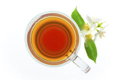 tea top view Royalty Free Stock Images