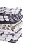 Tea Towels Isolated Stock Photo