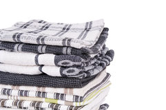 Tea Towels Isolated Stock Photos