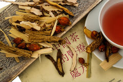 Tea for traditional chinese medicine Royalty Free Stock Photo