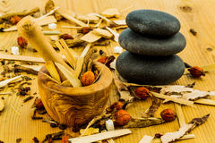 Tea for traditional chinese medicine Royalty Free Stock Photography