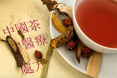 Tea of €€‹traditional chinese medicine Royalty Free Stock Photos