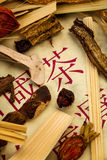 Tea for traditional chinese medicine Stock Photography