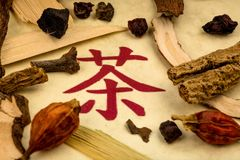 Tea traditional chinese medicine Royalty Free Stock Photography
