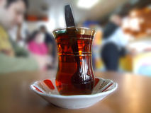 tea turkish04 Royaltyfri Bild