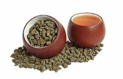 Tea två kuper royaltyfri foto
