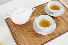 Tea for two Royalty Free Stock Images