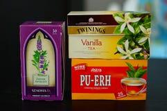 Tea variation Royalty Free Stock Photo
