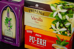 Tea variation Royalty Free Stock Photos