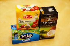 Tea variation Stock Photos