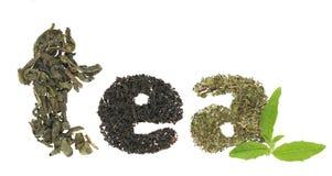 Tea varieties Royalty Free Stock Photos