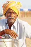 The Tea Vendor Royalty Free Stock Image