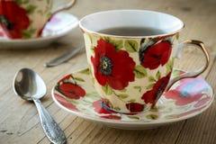 Tea in vintage teacup Royalty Free Stock Photo
