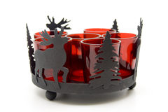Tea warmer candle stand Stock Image