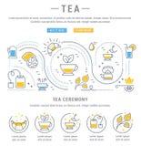 Tea Web Banner Stock Photos