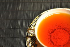 Tea. A white cup of tea Royalty Free Stock Photography