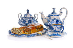 Tea With Cake Stock Images