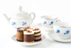 Tea With Cookies Stock Images