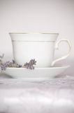 Tea With Lavender Royalty Free Stock Images