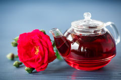 Tea With Roses Stock Images