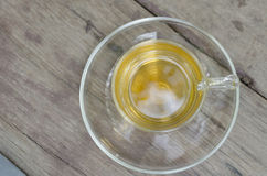 Tea. On the wooden table Royalty Free Stock Images