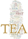 Tea You Can Have It Hot Or Cold Text Background  Word Cloud Concept. TEA YOU CAN HAVE IT HOT OR COLD Text Background Word Cloud Concept Stock Images