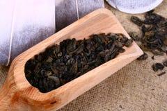 Teabag Foto de Stock