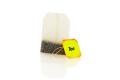 teabag lizenzfreies stockbild