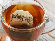 Teabag in the cup Royalty Free Stock Images