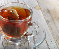 Teabag in the cup Royalty Free Stock Image