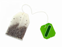 Teabag for herbal tea Stock Image