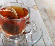 Teabag no copo imagem de stock royalty free