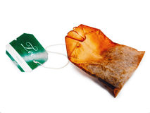 Teabag, old, dry Stock Image