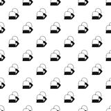 Teabag pattern, simple style Stock Images