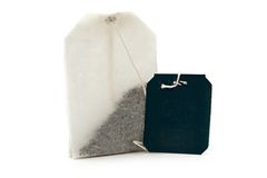 Teabags Stock Image