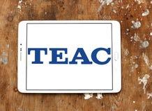 TEAC Korporation logo arkivbilder