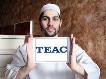 TEAC Korporation logo arkivfoto