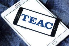 TEAC Korporation logo royaltyfri foto