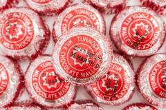 Teacakes du ` s de Tunnock Images libres de droits