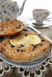 Teacakes tostados Foto de archivo