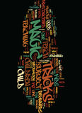 Teach Children Magic Text Background  Word Cloud Concept Royalty Free Stock Photo