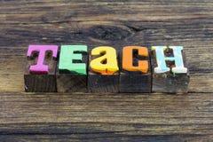 Teach education school teacher letterpress classroom teaching learn