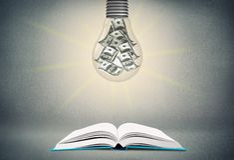Teach. Learn law object book school legal Stock Photography