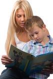 Teach letters Stock Photos